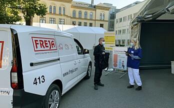 FREJA har distribuert mer enn én million vaksiner i Oslo kommune