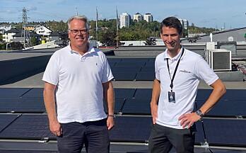 Power-varehus får egen strøm fra taket