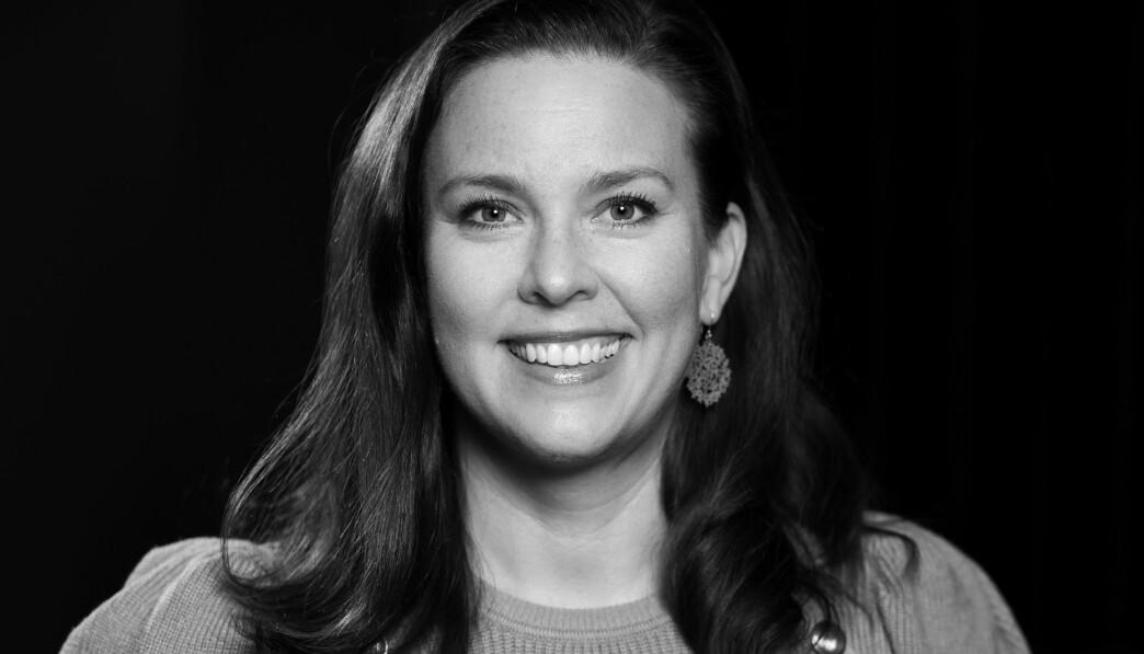 Heidi J. Larsen er markedssjef på CC Vest.