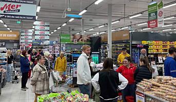 Gjenåpnet kjappere enn planlagt, med shops-in-shop