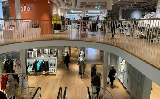 Føler seg tryggere: Stadig flere drar på kjøpesenter