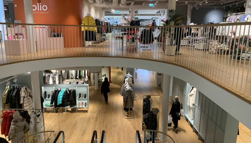 Nordmenn tør i økende grad gå på kjøpesenter igjen, viser undersøkelse. Ill. foto fra Bogstadveien.