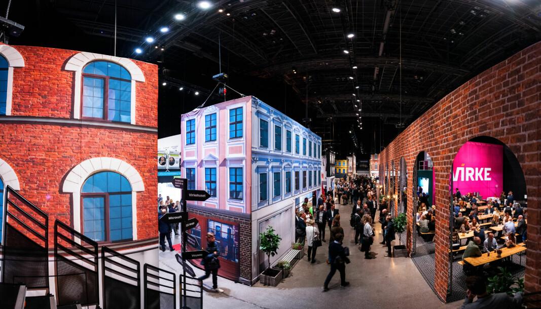 På årets Handelskonferanse bygde Virke fremtidens handelsby.