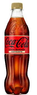 Koffeinfri Coca-Cola for første gang i Norge