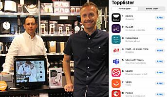 Kitch'n-appen helt på topp i App Store