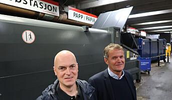 Løfter avfallshåndtering til nytt nivå i pilotprosjekt