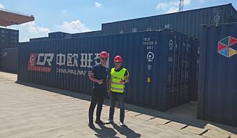 ColliCare chartrer et helt togsett fra Kina til Norge