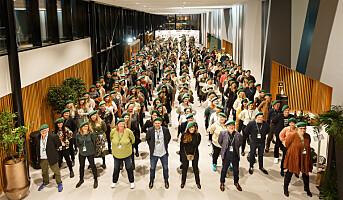Mester Grønn samlet 300 ledere