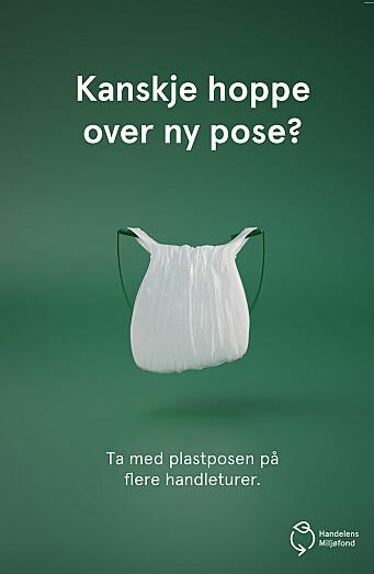 Plastposer får personlighet i ny kampanje